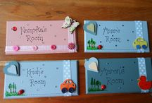 Room/name/letter plaques