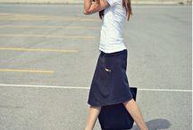 Sport shoes/skirt ❤