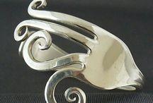 Fork bracelets&stuff / Handmade jewelery