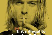 Kurt Cobain/Nirvana / by Scorpio Demonhunter