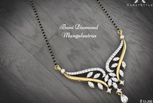Diamond Mangalsutra / Diamond mangalsutra shopping made friendly and easy with papilior and their team that can help you find the perfect design complimenting the likes and taste of your perfect bride.