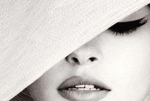 woman wearing hat..