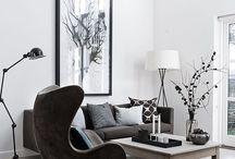 living room. / My