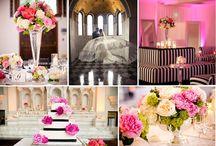 Black White Pink Wedding / by Haline Powers
