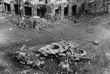 Budapest - Destroyed tanks