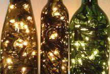 světla v láhvi