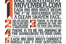 Bigotes en Movember / Grow your MO for Men's Health in November (please not any other month for any other reason in my house :P)