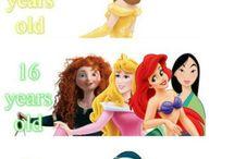 všetky princezny - skrátka