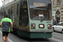 Olasz villamosok, metro-k. / A 2015 húsvéti római látogatásom alkalmával fotozott villamosok és metro-szerelvények képei.