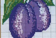 keresztszemes gyümölcsök
