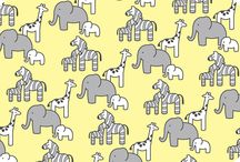 Little Safari By Patricia Zapata / Shannon Fabrics Licensed Collections- Robert Kaufman Cuddle / by Shannon Fabrics