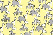 Little Safari By Patricia Zapata - Robert Kaufman / Shannon Fabrics Licensed Collections- Robert Kaufman Cuddle
