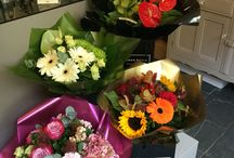 Hand Tied Bouquets / Creative individual bouquets