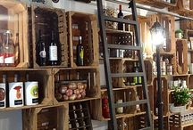 WINE SHOPS INTERIORS