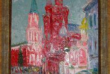 Russian art. Kremlin.