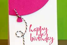 Card Ideas ~ B'Day