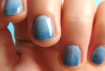 Graphic nail design / Manucures Pôle Emploi du jour ;-)