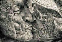 portrait old people