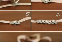 DIY Knots, Ribbons, ties