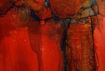 mixed abstract art