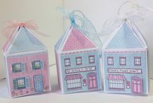 Sweet Chalets & Shops / Design Team inspiration for the Sweet Chalets & Shop boxes from Craftwork Cards