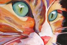 Kočky malované