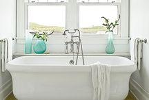 Coastal / Bathroom Design / Ideas for #bathrooms with a Coastal look