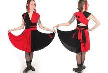 DC Inspired Convertible Dresses / Custom convertible dresses inspired by characters from the DC Universe!