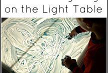 Actividades para mesa de luz