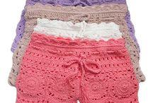 shorts en crochet