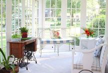 Sun Room Ideas / Inspiration and decoration ideas for my porch. / by Madison Reitzel