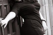 boudior photoshoot for plus size women