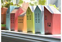 Windowsill houses