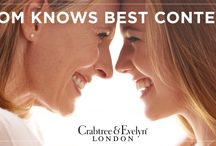 Mom Knows Best / Some of the wonderful beauty advice shared by our friends from their moms in our Mom Knows Best contest.  #CrabtreeMomKnowsBestContest
