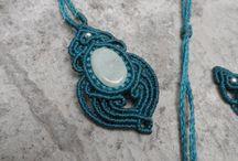 macrame pendants