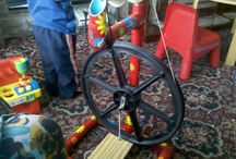 Spinning Wheels / by Crochetic