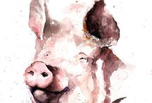 Pig tattoo ideas