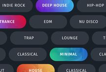 Web Buttons / Boards id for web buttons design collection