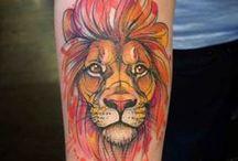 Tattoo leone