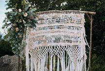 B A C K D R O P S / Wedding backdrop inspiration for the bohemian and alternative bride