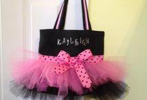 Little girls. Bag