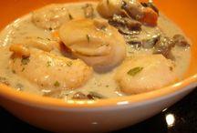 Recettes cuisine / Coquilles st jacques
