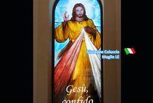 Vetro Arte / Vetro, vetrofusione, pittura su vetro, composizioni su vetro.