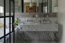 cranley gardens / ideas for Alexs Bathroom