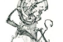Watch dials&compass