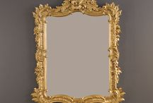 Mirror Mirror On The Wall / Bratt Decor is all about baby, but our mirrors are anything but childish.  Add a gorgeous gilded mirror, venetian mirror, or modern mirror to any room in your house, including the nursery, and watch it double in size!  #mirror #gold #white #venetian, #ornate #brattdecor