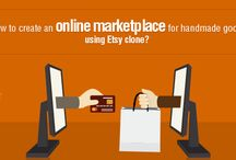 Buy and Sell Software / The script that is coded taking inspiration from Etsy, called the Etsy clone script, can be the best to create you a website that sells handmade products ranging from jewelry, cards, costumes.