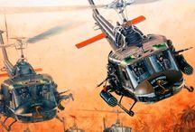 Huey Hellicopter