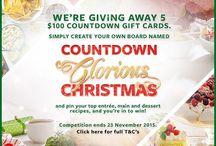 """Countdown Glorious Christmas"""