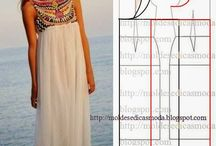 vestidos y patrones